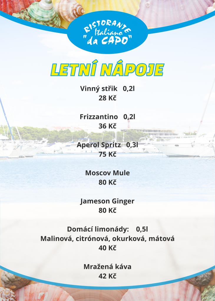 letni drinky A5 - da capo